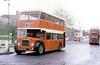 York - West Yorkshire 1966 Bristol FS6B/ECW H33/27RD 218 (NWU 470D) outside York Railway Station.