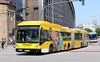 Buses in Hamburg - Germany