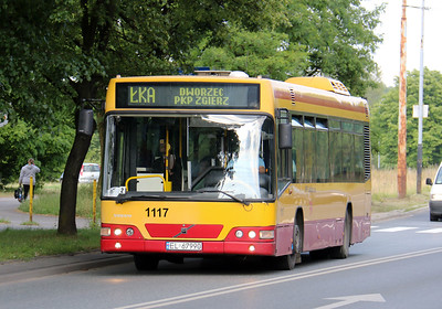 Buses in Lodz - Poland