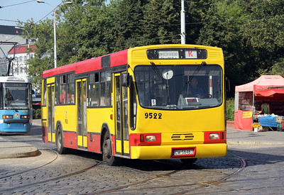Buses in Wroklaw - Poland