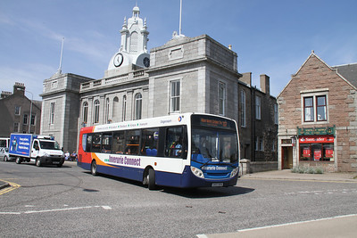 27533 at Inverurie Town Hall