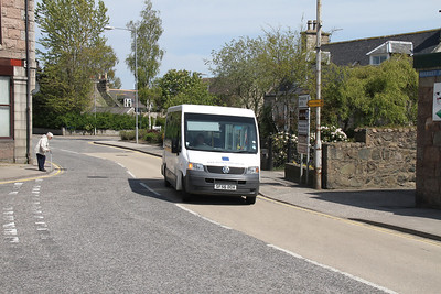 Aberdeenshire Council DRT Volkswagen SF56DOA rather catches me on the hop
