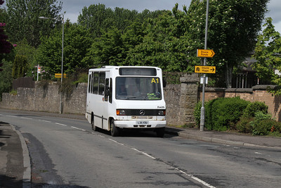 Fm25 is L311YDU on Balkerach Street, Doune with a twice daily Callander to Stirling service