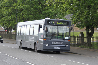 P292MLD westbound on Camelon Road