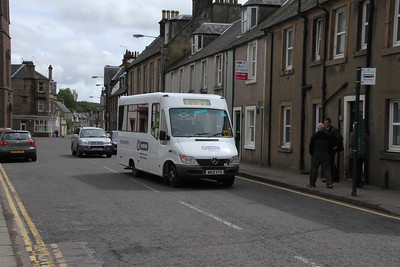 W821VTX on Main Street, Doune on the C66