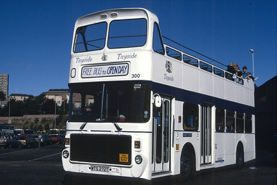 300 is the former 272 having been converted to open top.  Seen here are the East Dock Street Open Day