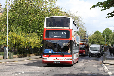 654 westbound on Drumsheugh Gardens