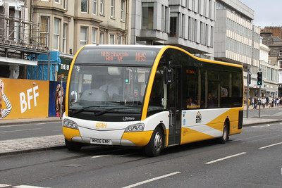 MH06EMH westbound on Princes Street