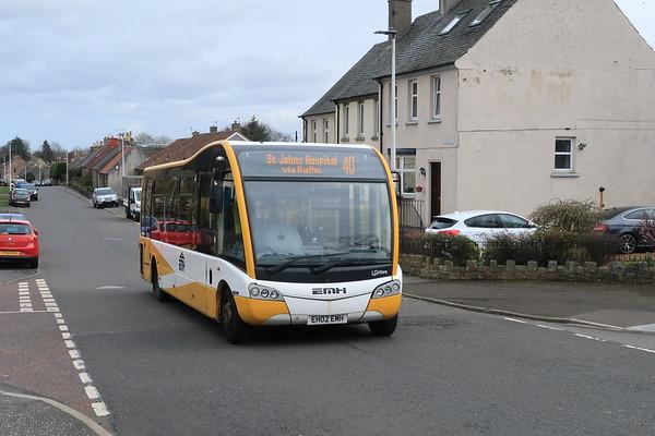 EH02 EMH heads through Ratho for St Johns