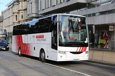 YJ19 AYT new Van Hool for ECL