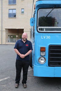 Graham Cochrane was our driver