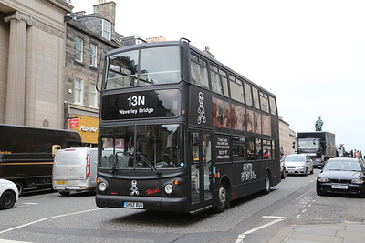 GH52BUS is the new Ghost Bus (ex DLA330 Arriva London)