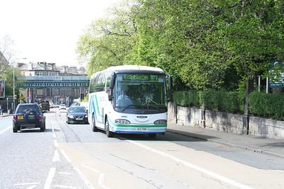 SCZ7108 eastbound on West Coates, Edinburgh