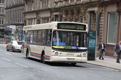 2066 is ex Stagecoach East London 34285