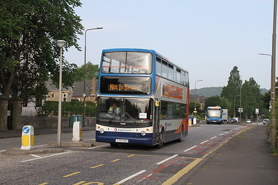 17289 is to be ET17 as she zooms past me on Queensferry Road
