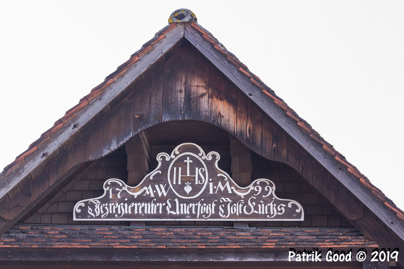 Furtig: 1799 erbaut. Jezregierender Unervogt Jost Fuchs (Quelle zweifelhaft). Erstes Haus mit Wirtsrecht in Schwarzenberg.