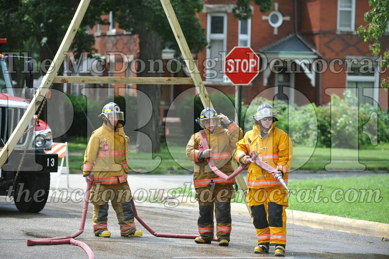 Fireman Water Fights 08-23-14