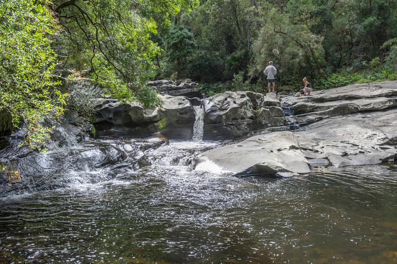 The cascades at Jebb's Pool