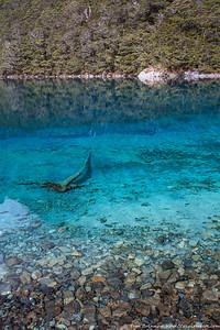 Blue Lake - actually blue!