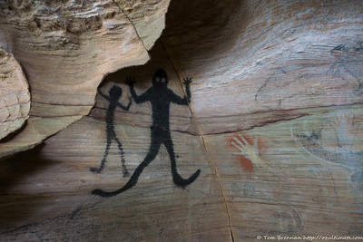 Aboriginal rock art? Circa 1990!