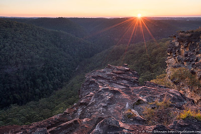Sunrise at Lost World Lookout