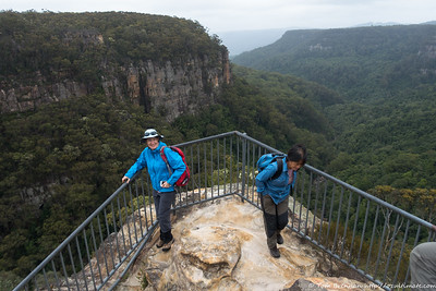 Kerry at Warris Chair Lookout