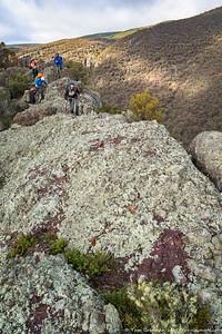 Traversing the cliffs