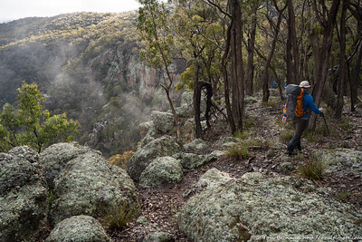 Rugged clifflines