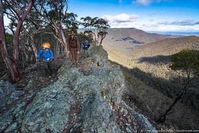 Matt and Alex on the ridge
