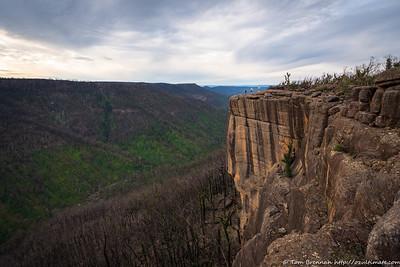 Following the cliffs