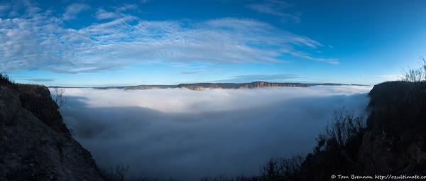 Nattai Valley cloud blanket