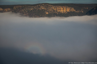 A Brocken Spectre makes an appearance