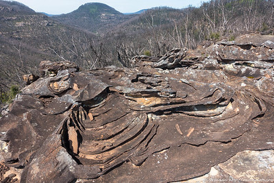 Ironstone rock formation