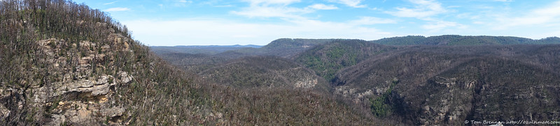 Lookout over Bowens Creek