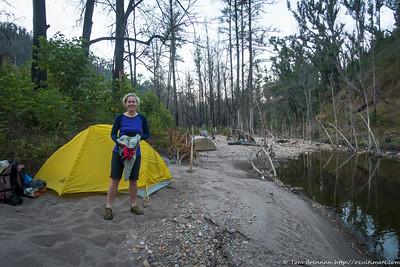 Rachel at camp