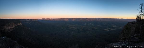First light on Bonnum Pic