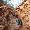 The Larapinta Trail. West MacDonnell Ranges National Park.