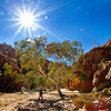 Near Fish Hole in the Chewings Range. West MacDonnell Ranges National Park.