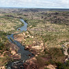 The Katherine River as viewed from a helicopter. Northern Territory.