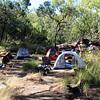 17 Mile Falls campsite. Jatbula Trail, Nitmiluk National Park, Northern Territory.