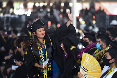 College of Business and Economics Commencement Ceremony, Class of 2020. Photo by Robert Huskey