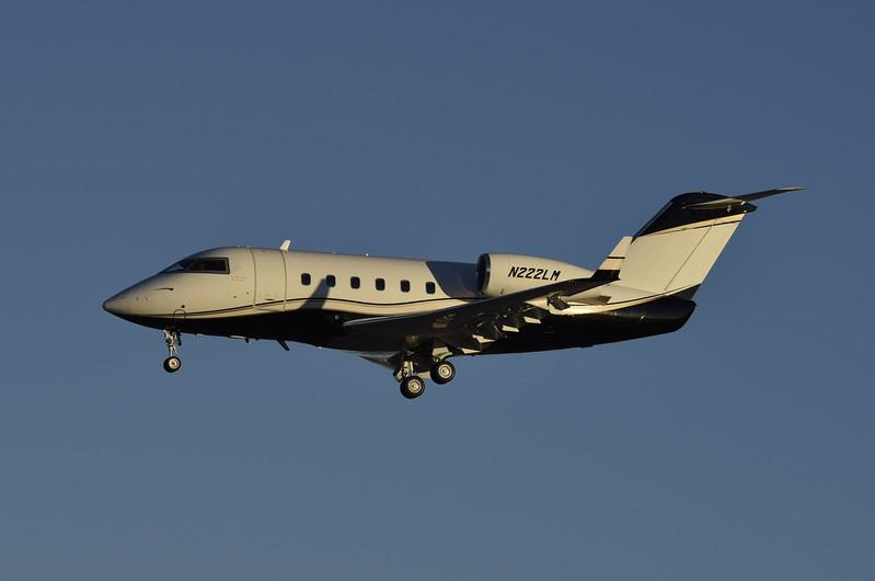 Melon Aviation LLC<br /> N222LM<br /> 1982 CL600<br /> c/n 1052<br /> <br /> 3/6/17 LAS