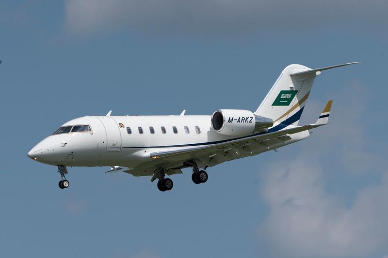 Marks Jet<br /> 2011 CL605<br /> M-ARKZ<br /> c/n 5879<br /> <br /> 8/4/18 BWI