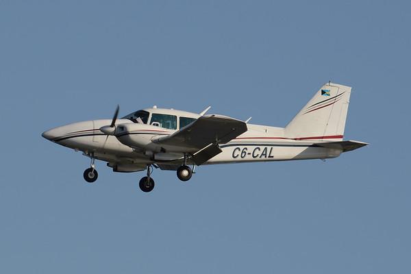 C6-CAL PA23-250 Piper Aztec s/n 27-8154024  1/30/17 PBI