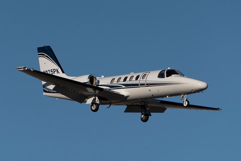 N125PK<br /> 1998 Cessna C550<br /> c/n 0850<br /> <br /> 8/31/18 LAS