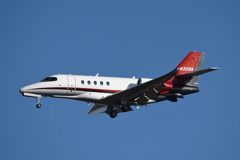 Nicholas Services LLC<br /> N328N<br /> 2015 Cessna 680A<br /> c/n 680A0008<br /> <br /> 1/30/18 IAD