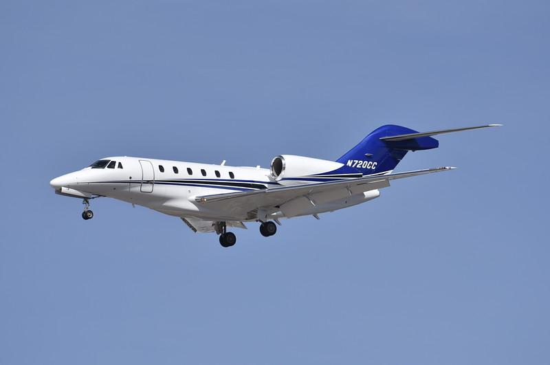 Carlisle Flight Services<br /> N720CC<br /> 1998 Cessna 750<br /> c/n 0050<br /> <br /> 3/7/17 LAS