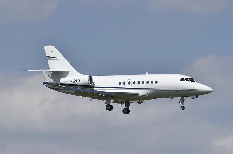 Stanley Black & Decker<br /> 2010 Falcon 2000EX<br /> N12LX<br /> c/n 222<br /> <br /> 4/18/17 MTN