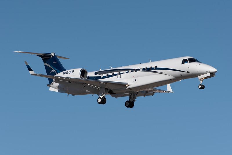 Peed Aviation International LLC<br /> N600LP<br /> 2005 EMB-135BJ<br /> c/n 14500863<br /> <br /> ex G-YIAN, EC-KHT, M-PMPM<br /> <br /> 8/31/18 LAS