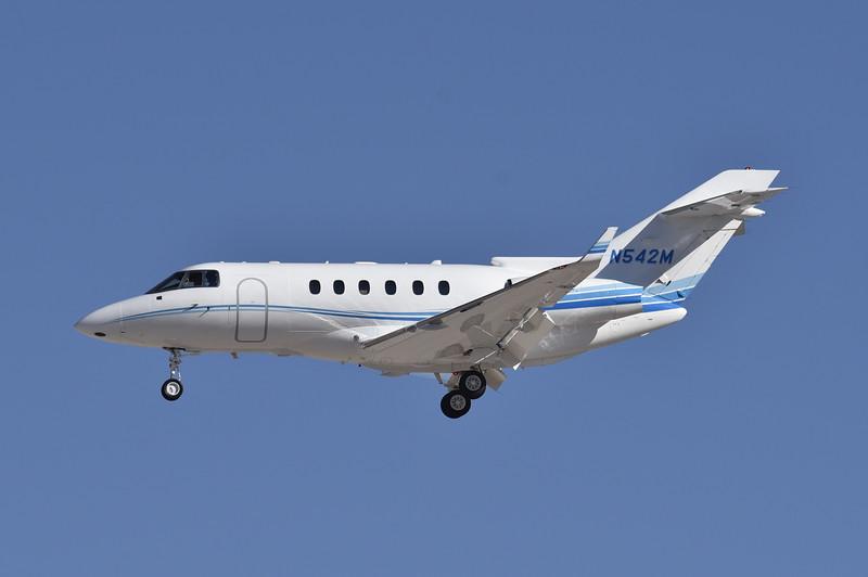 N542M<br /> 2006 Hawker 850XP<br /> c/n 258766<br /> <br /> 3/2/17 LAS
